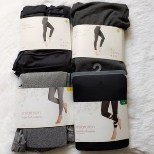 Lot of 4 leggings Xhilaration and A New Day Brand
